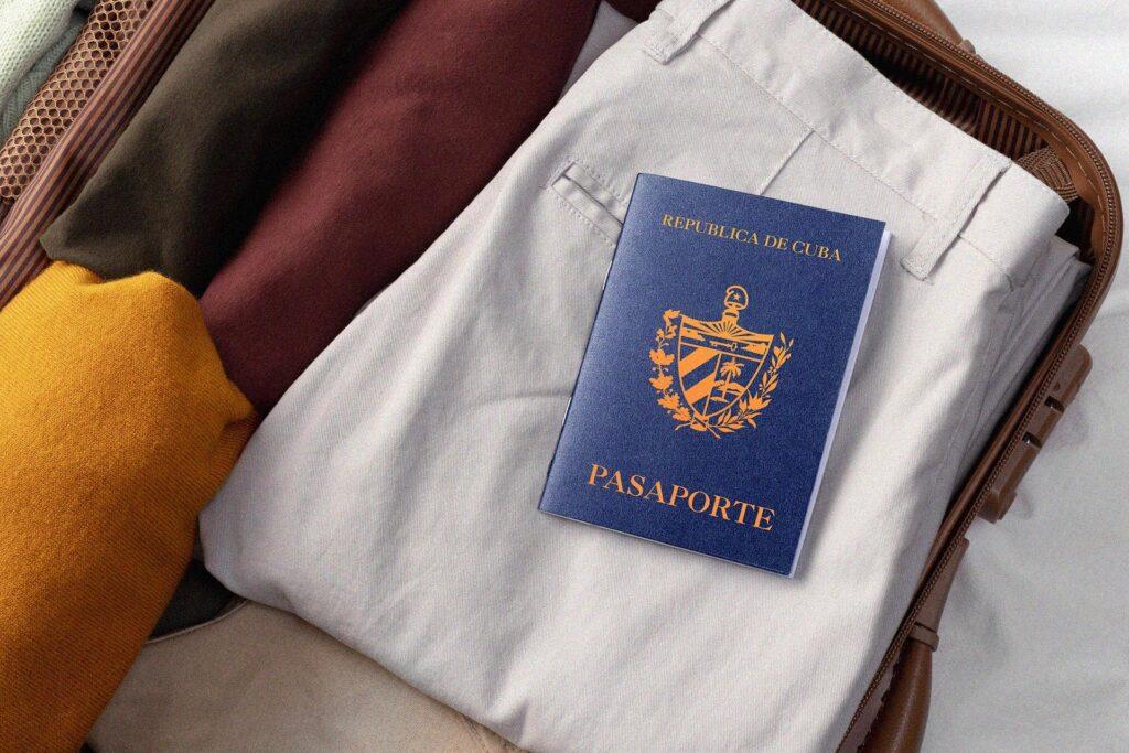 Pasaporte cubano perdido